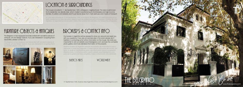 Diseño The Belgrano Brochure - flyer