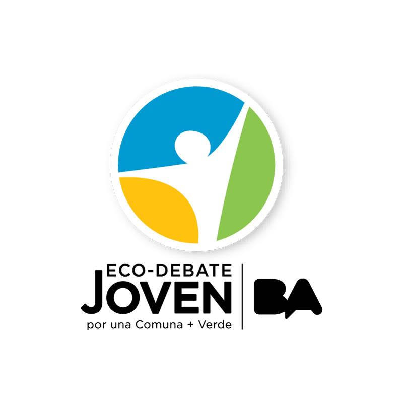 Logo Design Brand EcoDebate Joven
