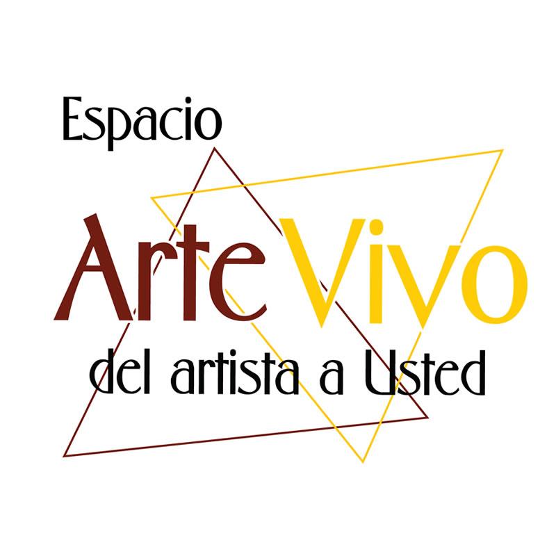 Diseño logo marca ArteVivo